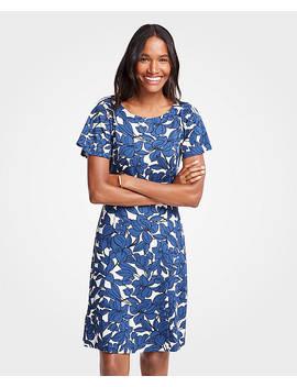Iris Short Sleeve Flare Dress by Ann Taylor