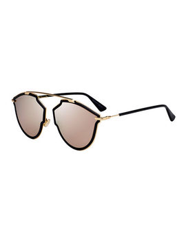 So Real Riss Mirrored Sunglasses by Dior