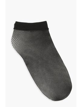 Knee Thigh Fishnet Socks by Boohoo