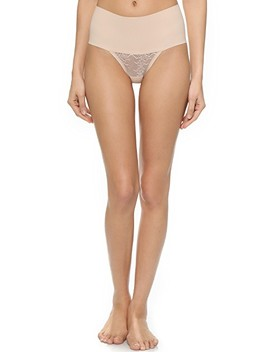 Undie Tectable Lace Thong by Spanx