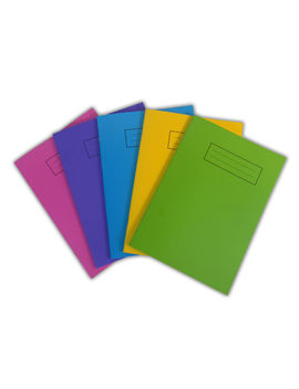 Silvine A5 Exercise Jotter Book 80 Pages Notepad Bright Coloured Laminated Cover by Ebay Seller