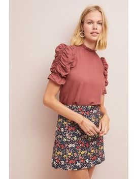 Corey Lynn Calter Floral Mini Skirt by Corey Lynn Calter