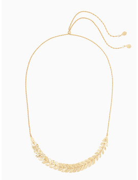 A New Leaf Slider Necklace by Kate Spade