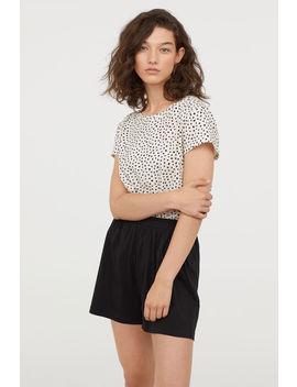 Shorts Aus Modalmischung by H&M