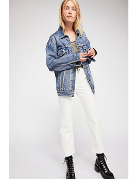 Levi's Wedgie Straight Cord by Free People