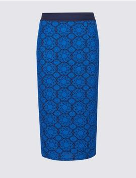 Lace Pencil Midi Skirt by Marks & Spencer