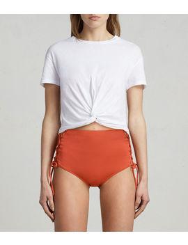 Lazo Highwaist Bikini Briefs by Allsaints