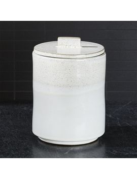 Mason Large Rustic Kitchen Canister by Crate&Barrel