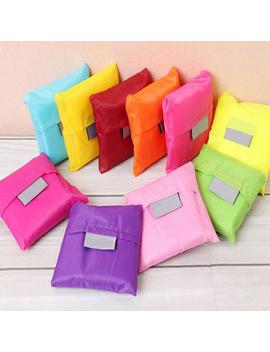 1pcs Reusable Foldable Eco Friendly Shopping Tote Bages Multifunctional Folding Oxford Cloth Large Capacity Storage Handbag by Ji Into