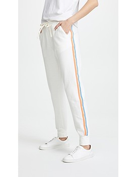 Sweatpants With Stripes by Sundry