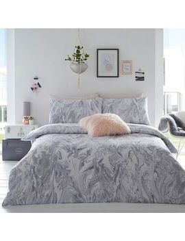 Home Collection Basics   Grey 'cosmo Glitter Marble' Bedding Set by Home Collection Basics