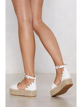 All In Stud Time Espadrille Sandal by Nasty Gal