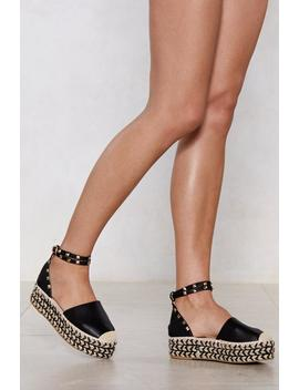 Chevron Moment Please Espadrille Sandal by Nasty Gal