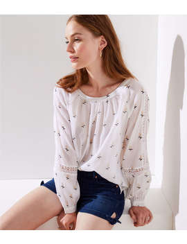 Rose Garden Top by Loft