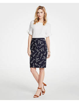 Pineapple Pencil Skirt by Ann Taylor