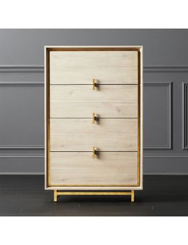 Lara Acacia Tall Chest by Crate&Barrel