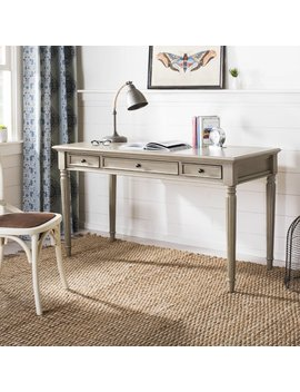 Alcott Hill Hathorn 3 Drawer Writing Desk & Reviews by Alcott Hill