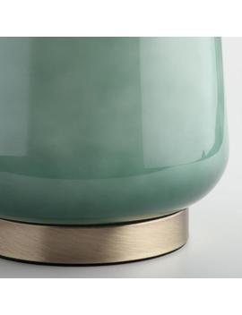 Jade Green Ombre Glass Table Lamp Base by World Market