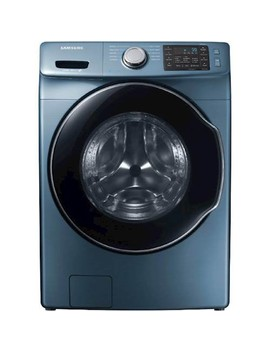 4.5 Cu. Ft. 10 Cycle High Efficiency Front Loading Washer With Steam   Azure Blue by Samsung