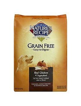 Nature's Recipe Grain Free Easy To Digest Chicken, Sweet Potato & Pumpkin Recipe by Nature's Recipe