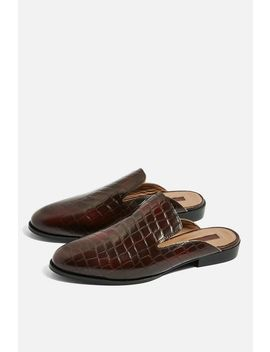 Backless Loafers by Topshop