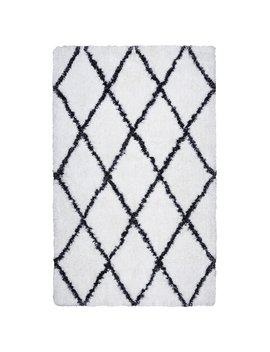 Langley Street Vaquero Hand Tufted White/Black Area Rug & Reviews by Langley Street
