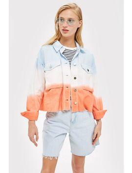 Petite Tie Dye Jacket by Topshop
