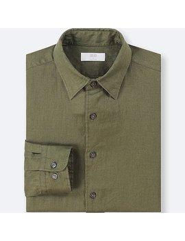 Herren 100% Premium Leinen Hemd by Uniqlo
