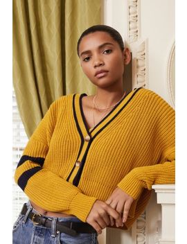 uo-varsity-striped-cardigan by urban-outfitters