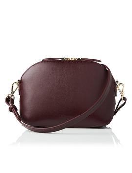 Candice Oxblood Leather Shoulder Bag by L.K.Bennett