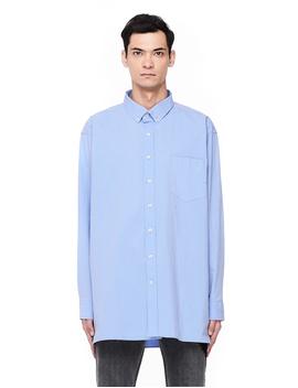 Men's Light Blue Cotton Shirt by Vetements