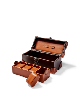 Leather Watch Box by Ralph Lauren