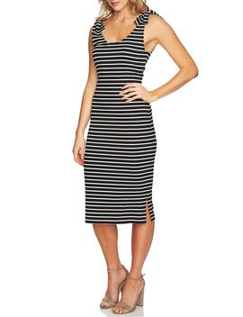 Stripe Knit Tank Dress by Cece
