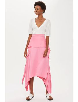 **Satin Tie Skirt By Boutique by Topshop