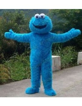 Sesame Street Elmo Red/Blue Monster Mascot Fancy Dress Costume Adult Size by Ebay Seller