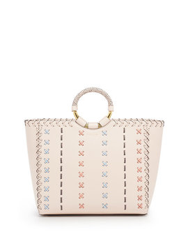 Marquis Stitched Tote by Henri Bendel
