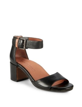 Christa Leather Ankle Strap Sandals by Gentle Souls