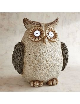 Tall Led Solar Owl by Pier1 Imports