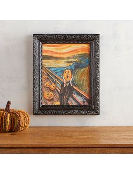 Pumpkin Scream Framed Wall Art by Pier1 Imports