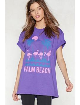 Palm Beach Relaxed Tee by Nasty Gal