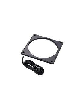 Phanteks Halos Lux Digital Led 120mm Fan Frame Alum, Black (Ph Ff120 Drgba Bk01) by Phanteks