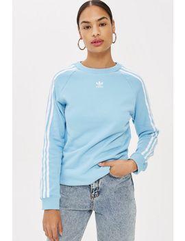 3 Stripe Crew Sweatshirt By Adidas by Topshop