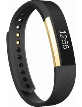Alta Gold Series Activity Tracker (Large)   Black/Gold by Fitbit