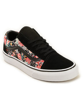 Vans Old Skool Floral Shoes by Vans