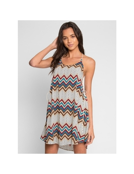 Atlin Chevron Dress by Wet Seal