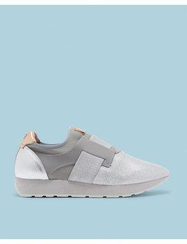 Sneakers Mit Glitzerriemen by Ted Baker