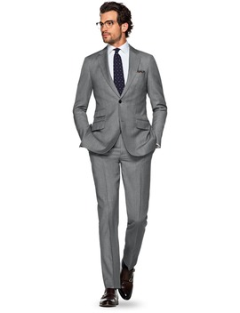 Sienna Grey Plain by Suitsupply