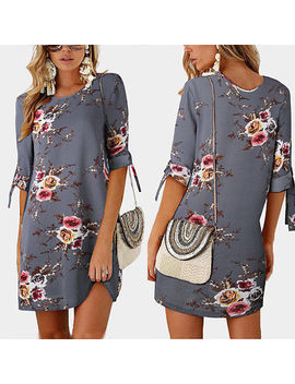 New Italian Lagenlook Quirky Boho Jersey Soft Cotton Stretch Pocket Tunic Dress by Ebay Seller
