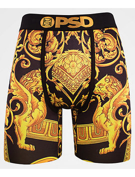 Psd Gold Sace Boxer Briefs by Psd Underwear