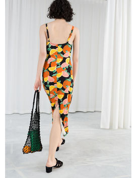 Printed Midi Slip Dress by & Other Stories